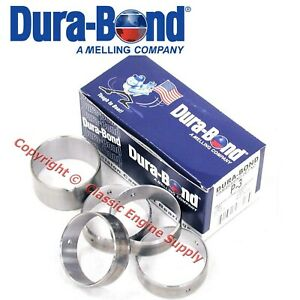 New P3 Durabond Cam Bearing Set 1955 1962 Pontiac 421 389 370 347 336 317 288