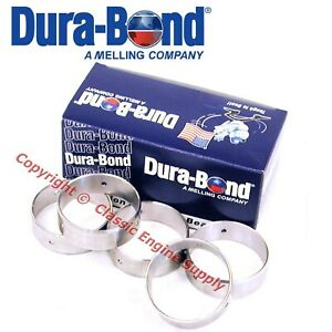 New P4 Durabond Cam Bearings 1963 1981 Pontiac 301 326 350 389 400 421 428 455