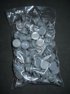 100 West 20mm Gray 4416 50 Elastomer Double Vent Rubber Stoppers For Vials