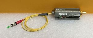Hp Agilent 83440b h10 Dc To 6 Ghz 1300 1550 Nm Lightwave Detector Tested