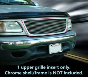 Fits 1999 2003 Ford F 150 F150 Billet Grille Grill 1 Pc