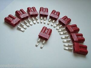 Anderson Sb50 Connector Kit Red 10 12 Awg 6331g2 10 Pack Domestic Shipping Incl