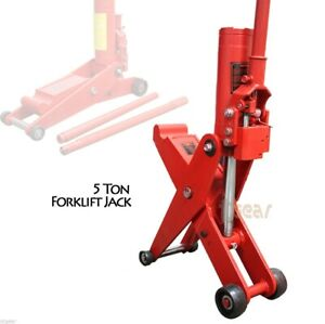 5 Ton Hydraulic Scissor Forklift Jack Trailer Tractor Truck Lift Jack