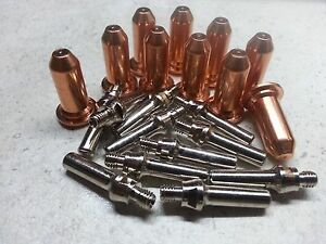 20 X Extendend Electrodes 30a Nozzles Lincoln Electric P20 Plasma Torch Kh652