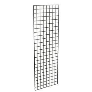 Grid Panel 24 X 72 1 4 Dia Wire 3 X 3 Squares Black Lot Of 3