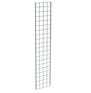 Grid Panel 12 X 60 1 4 Dia Wire 3 X 3 Squares Black Lot Of 3