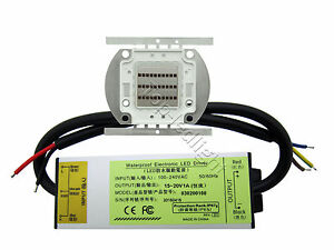 30w Infrared Ir 850nm 940nm 730nm High Power Led 30w Dc10 20v Waterproof Driver