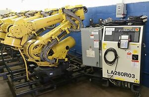 Fanuc Robot R 2000ia 200ew With Rj3ib Controller Tested Clean Complete