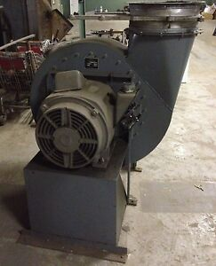 75 Hp Scott Centrifugal Industrial Blower Fan Squirrel Cage 3 Phase