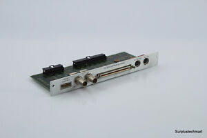 Hp agilent 16700 66503 Utg Board Assembly I o To 16701a Expansion Frame