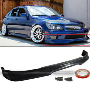Fit 01 05 Is300 Urethane Gd Gr Grdy Style Pu Front Bumper Chin Lip Body Kit