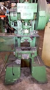 Perkins 15 Ton Stamping Press Metal Stamp Forming Machine Obi Punch Press