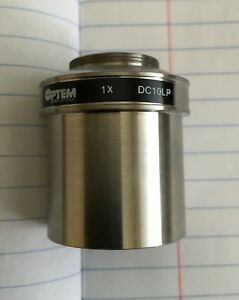 Optem Dc10lp Direct Video Coupler 1x Leica Microscopes