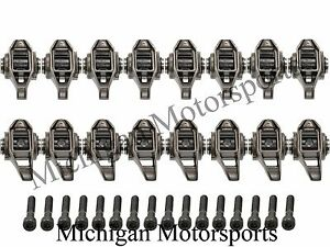 Ls3 Rocker Arms With Trunion Kit Installed L99 L76 L92 Ls9 Lsa Bolts Included