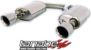 Tanabe Medalion Touring Exhaust System 92 00 For Lexus Sc300 400