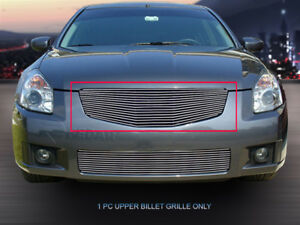 Fits 2007 2008 Nissan Maxima Billet Grille Front Upper Grill