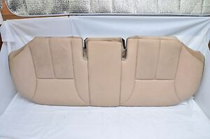 2001 Mercedes Benz E430 Rear Bench Seat Bottom Lower Oem