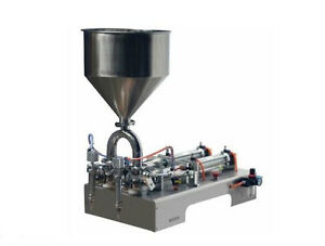 100 1000ml Double Heads Cream Shampoo Cosmetic Filler Automatic Filling Machine