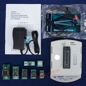 Top3100 Usb Universal Programmer Bois Eprom Flash Mcu Pic Stc Sst 93 24 25 Spi