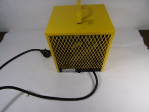 Stelpro Pch4800t Yellow Construction Heater 4800 W 240 V Used