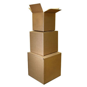 100 9x7x5 Shipping Packing Mailing Moving Boxes Corrugated Carton