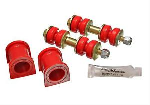 Energy Suspension Xb Front Sway Bar Bushing Set Red 8 5130r