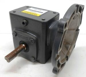 Boston Gear Right Angle Gearbox Speed Reducer F713 20 b5 g 20 1 Left
