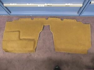 1994 1997 Mazda Miata Carpet Behind The Seats Beige Oem