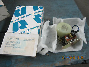 Ranco T34 131 Air Conditioning Delay Timer 208 240vac 50 60 Hz N o s