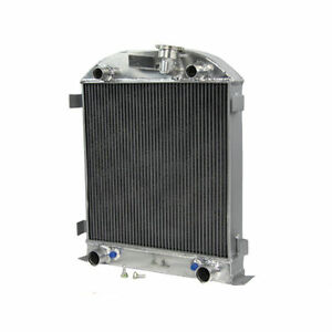 3 Row Aluminum Radiator For 1928 1929 Ford Model A W Flathead Engine 3 3l At mt