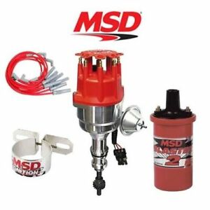 Msd 9902 Ignition Kit Ready To Run Distributor Wires Coil Early Ford 289 302