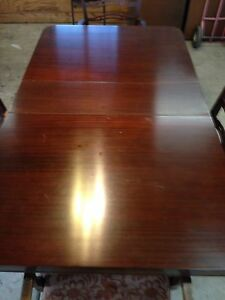 Dinning Table Set And Matching Cabinet