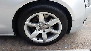 17 Audi Factory Oem Wheels Rims A5 Comes With Tires
