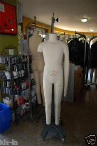 Alvaform 12 Boy 2004 Dress Form Full Body Boy Mannequin Dressform Jc Penney