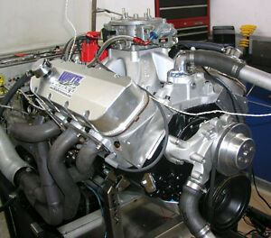 New Improved Bbc 540 Cubic Inch Stroker Engine 725hp Complete Engine