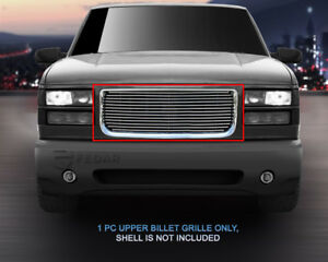 Fits 1994 1999 Gmc Yukon C k Pickup Suburban Polished Billet Grille Grill