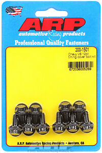 Arp 200 1501 Timing Cover Bolts Chevy Small Block Big Block 12 Point Head Black