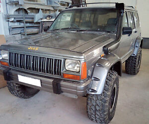 Fender Flares Wheel Arches Pocket Style For Jeep Cherokee Xj Year 1984 1996
