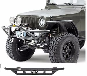 Smittybilt Src Front And Rear Bumper Fits Jeep Wrangler 86 07 76721 76611