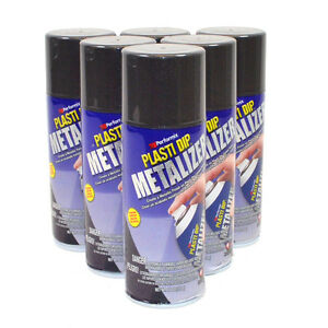 Plasti Dip Graphite Pearl Metalizer 11oz Spray Can Case Of 6