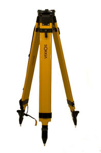 New Sokkia Wood Fiberglass Tripod total Station Laser Level Or Gps 724282