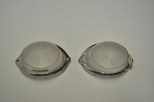 L622 Lucas 54570271 And 54570272 Vauxhall Victor Signal Lamp Lenses