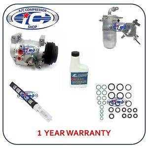 A C Compressor Kit Fit Chevrolet Silverado 1500 Gmc Sierra 1500 4 3 L 77348