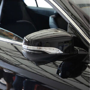 For Honda Accord Mk9 2013 2015 Chrome Rear View Mirror Side Molding Cover Trims