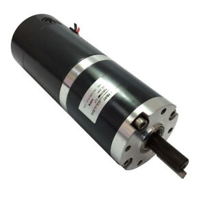 Diameter 60mm High Torque 24v Dc Planetary Gear Motor With 12mm Shaft 60rpm