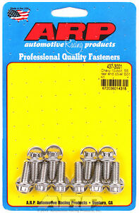 Arp 437 3001 Stainless Steel Rear End Cover Bolts Chevy 10 Bolt W Steel Cover
