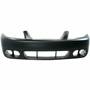 New Facial Front Bumper Cover Primered Fo1000533 For Ford Mustang 2003 2004