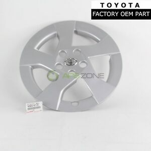 Genuine Toyota 2010 2012 Prius Wheel Cover Hub Caps Oem 42602 47110