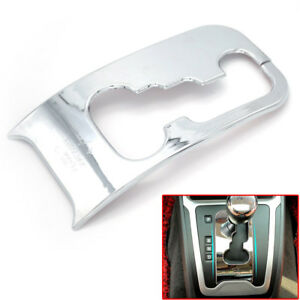 For Jeep Patriot Compass 2011 2016 Chrome Shift Gear Panel Cover Trim Bezel