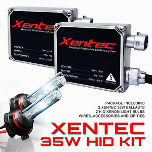 All Color Model H13 9008 Light Headlight Hid Kit Xenon 35w Xentec